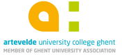 Logo Artevelde University College Ghent